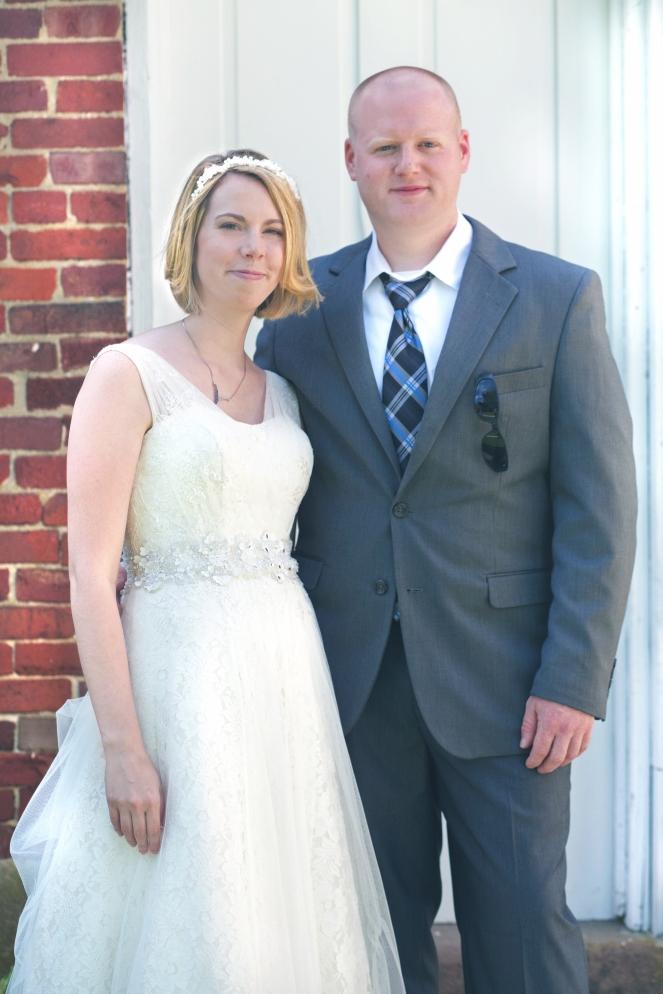 Bride and Groom Printz Wedding